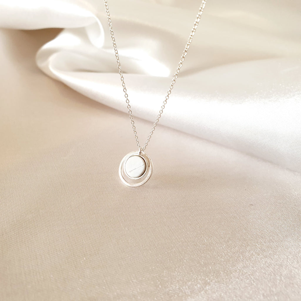 Haul light Necklace Silver