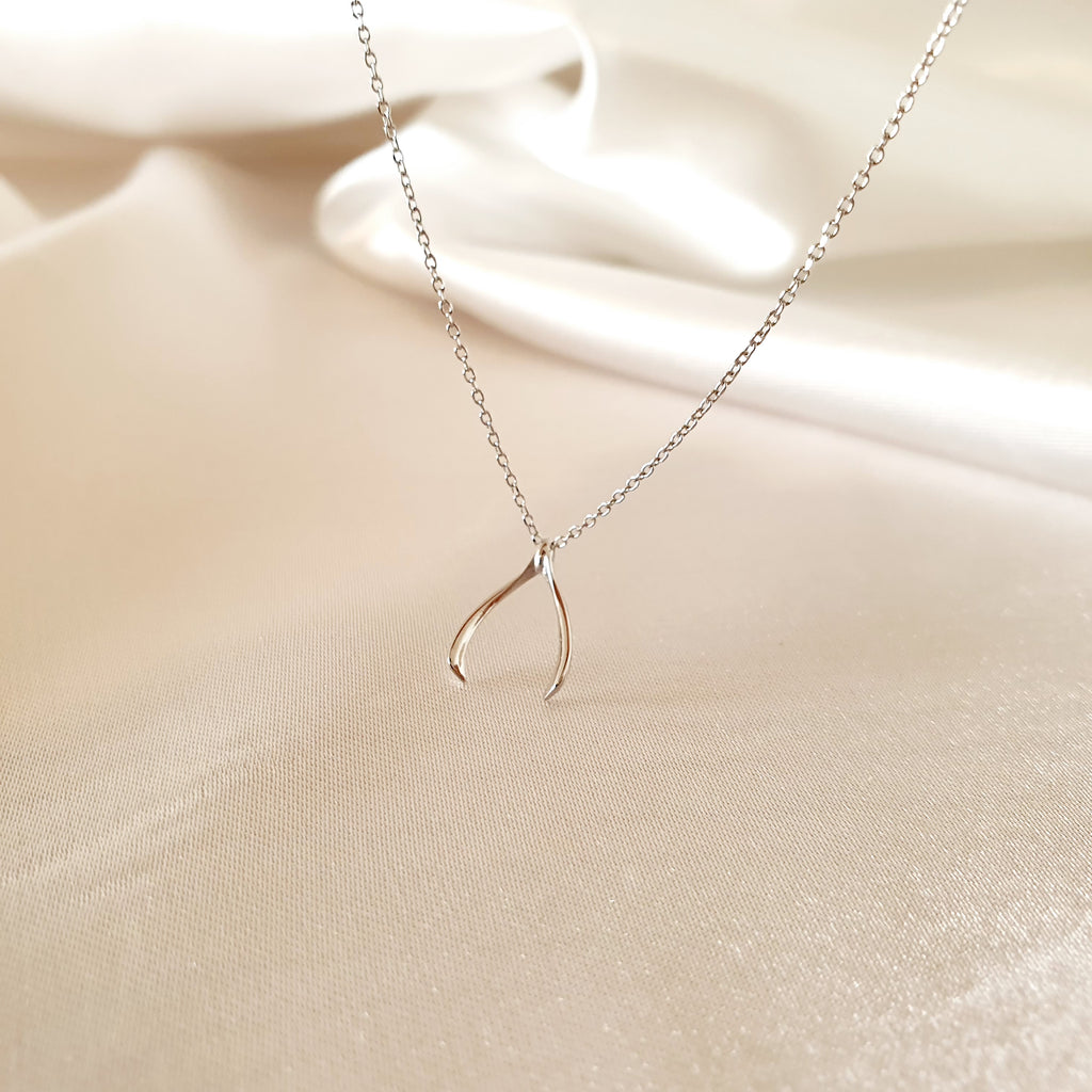Tongs Necklace Silver