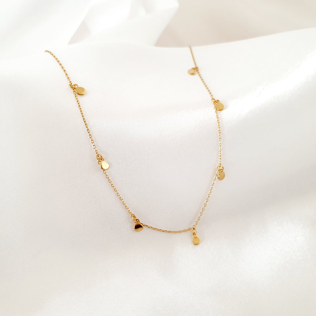 Rattle Necklace Gold