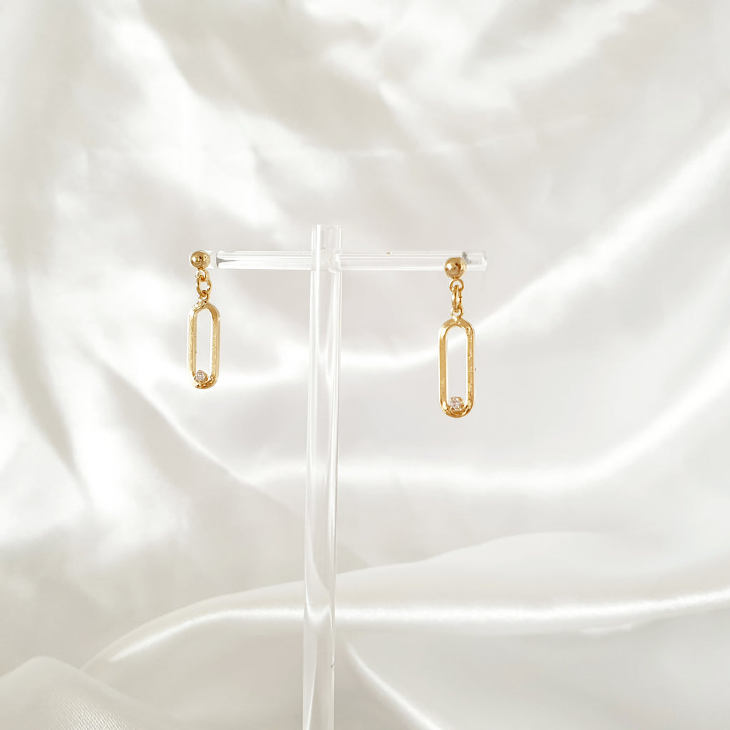 Mia Earrings Gold