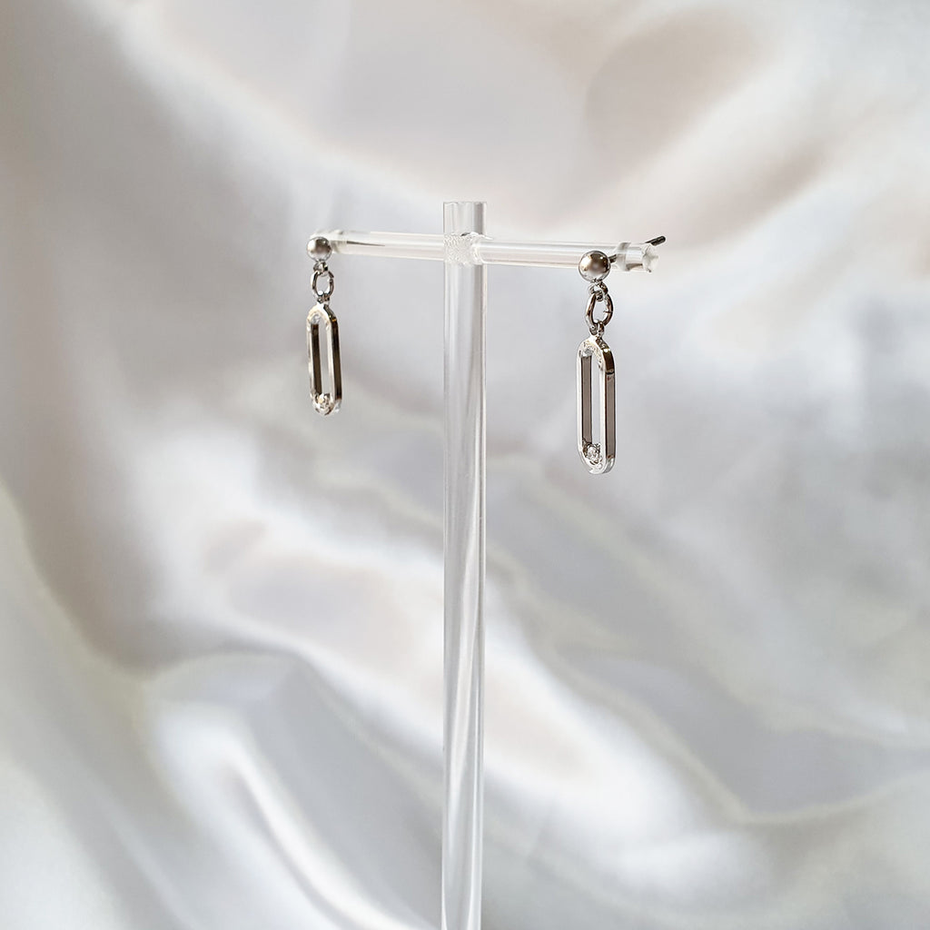 Mia Earrings Silver