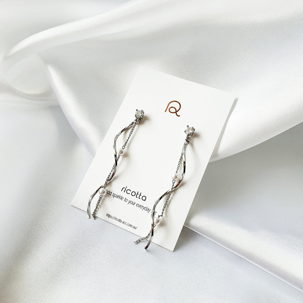 Furin Earrings Silver