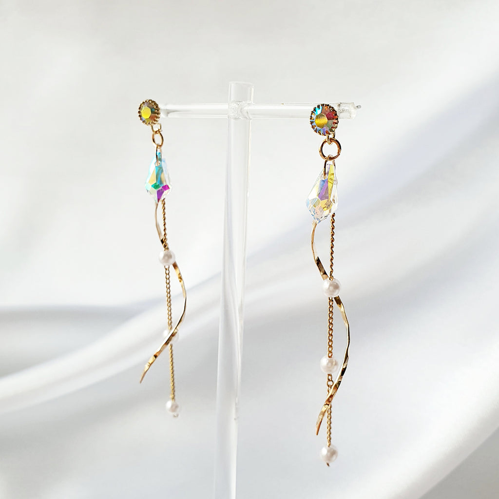Ziona Earrings Gold
