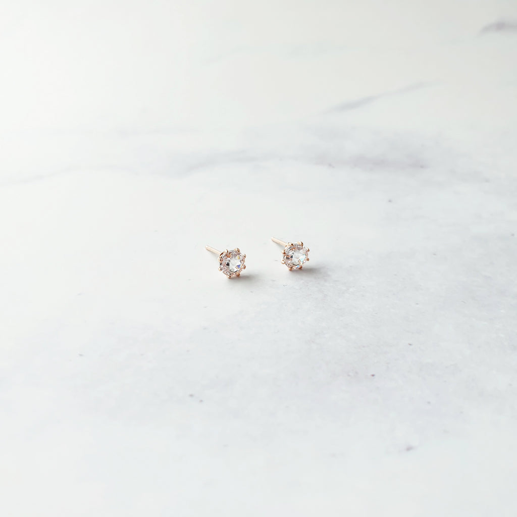 Handmade Rose Gold Earrings - Ricotta Accessories