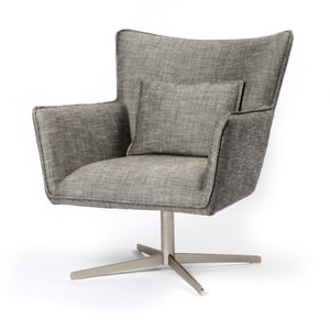 Jerome Swivel Chair - Raven