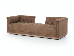 Rylee Chaise - Umber Grey