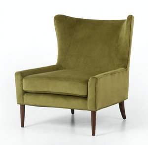 Titus Wing Chair - Bella Apple