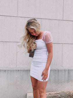 Eloise Puff Sleeve Dress