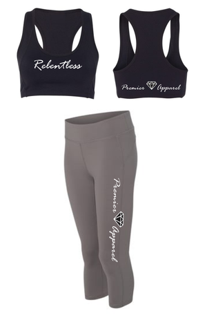 Ladies Gym Apparel - 2 piece Relentless