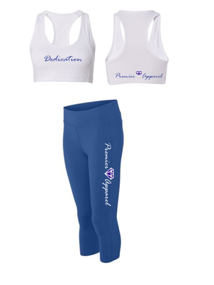 Ladies Gym Apparel - 2 piece Dedication