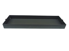 The tray for storing all your loose items, grey, level sided and slots onto the Bintec van frame.