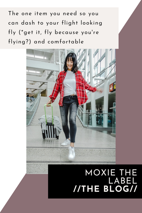 Travel In Style: The One Item You Need So You Can Dash To Your Flight Looking Fly (*get it, fly because you're flying?) And Comfortable