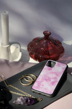 Load image into Gallery viewer, Pink Tie Dye Sky - Biodegradable phone case