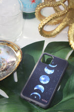Load image into Gallery viewer, Blue Moon Phases - Biodegradable phone case