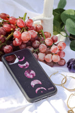 Load image into Gallery viewer, Pink Moon Phases - Biodegradable phone case
