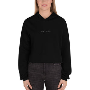 Self-Funded Fleece Crop Hoodie