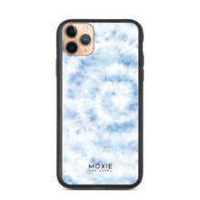 Load image into Gallery viewer, Blue Tie Dye - Biodegradable phone case