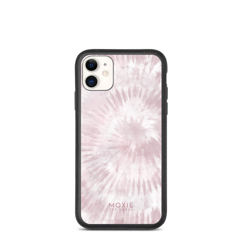 Pink Tie Dye - Biodegradable phone case