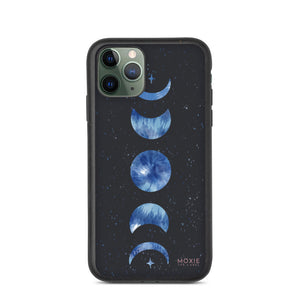 Blue Moon Phases - Biodegradable phone case