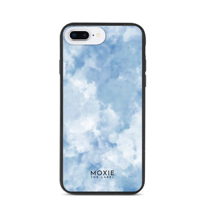 Blue Tie Dye Sky - Biodegradable phone case