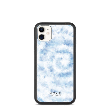 Blue Tie Dye - Biodegradable phone case