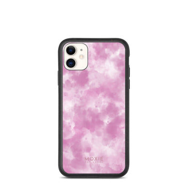 Pink Tie Dye Sky - Biodegradable phone case