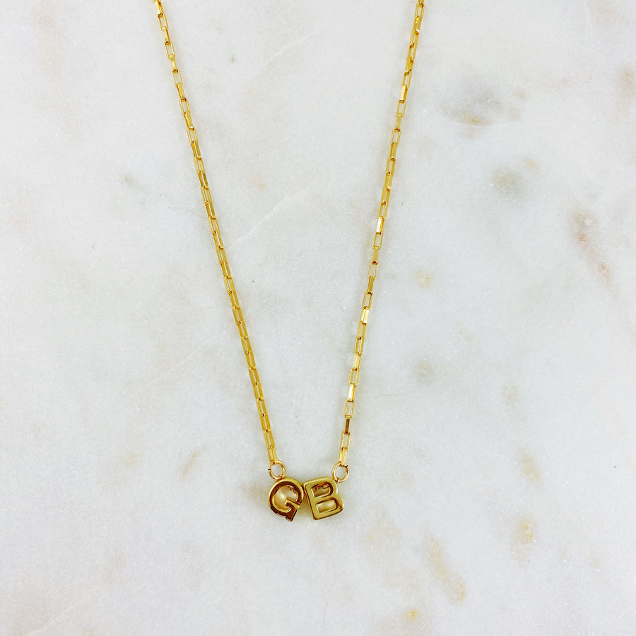 Bold Initial Necklace