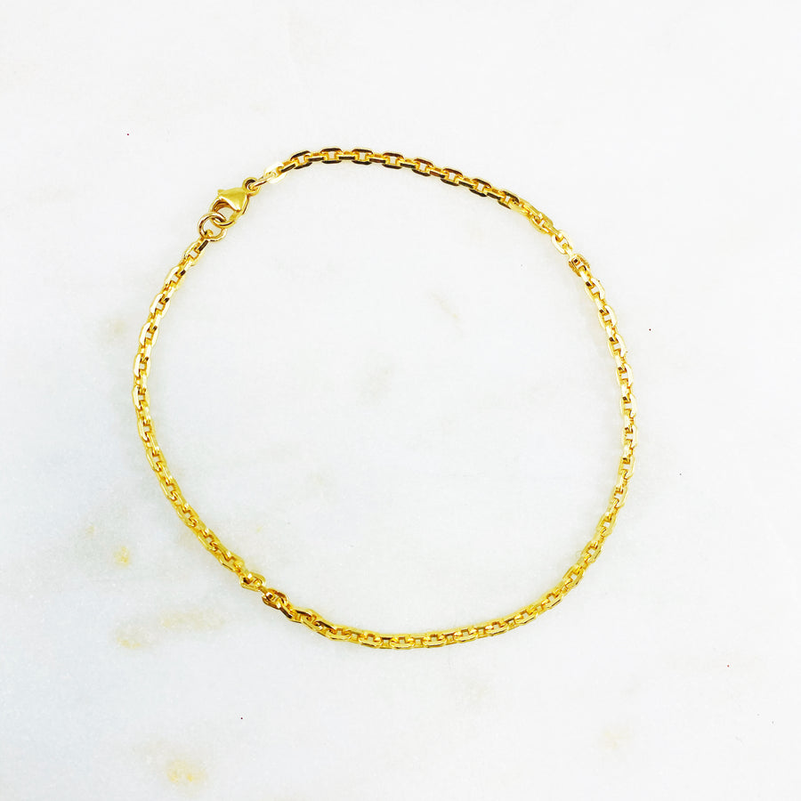 Carrie Gold Anklet