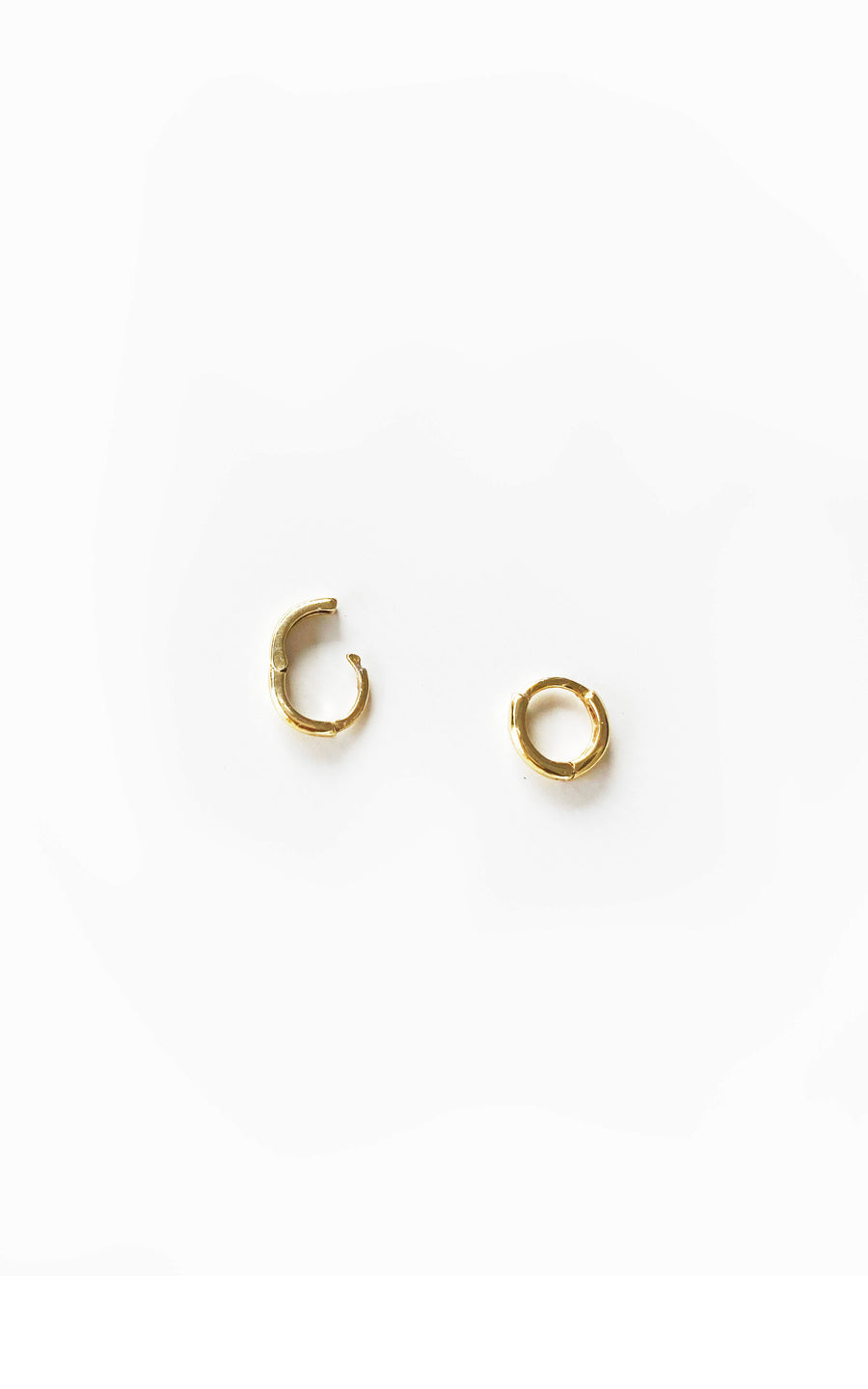 Tiny Tiny Gold Hoops