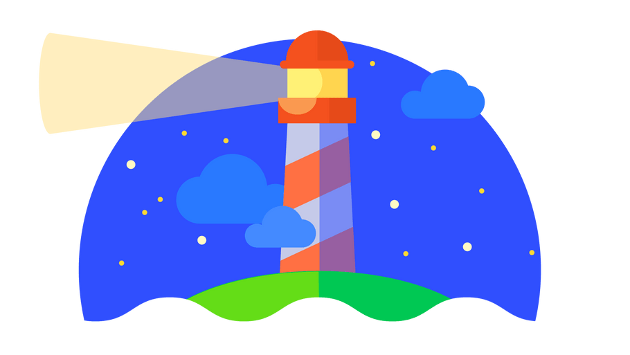 Pagespeed Facts and Stats shown by Google Chrome's Lighthouse Tool