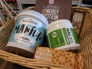 For Collection in Battersea, London - Vegan Protein Power Box Hamper