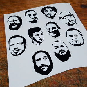 Men of Sundown Audio decals