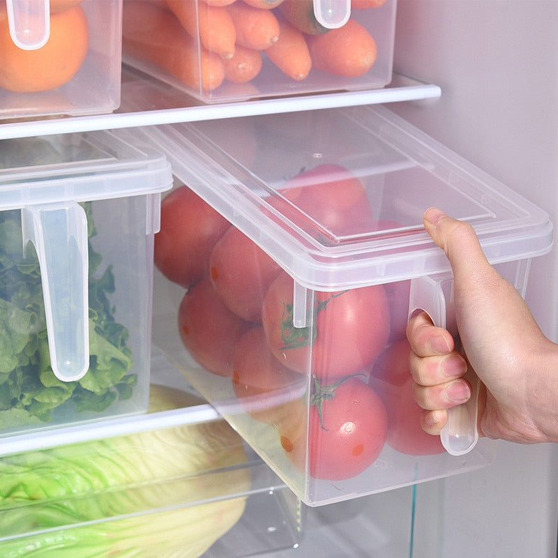 Transparent Kitchen Storage Containers