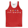 Zero Friends Tank Top-Meme-SoScribbly