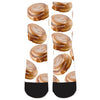 Cinnamon Roll Heaven Socks-Meme-SoScribbly