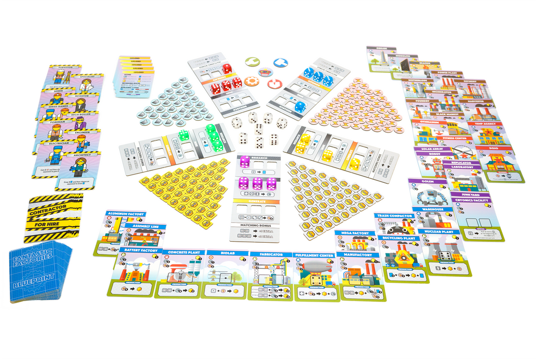 Fantastic Factories Print & Play (Digital Files)