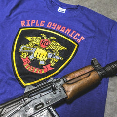 Rifle Dynamics Suchka Shirt -METRO BLUE- LEO FUNDRAISER