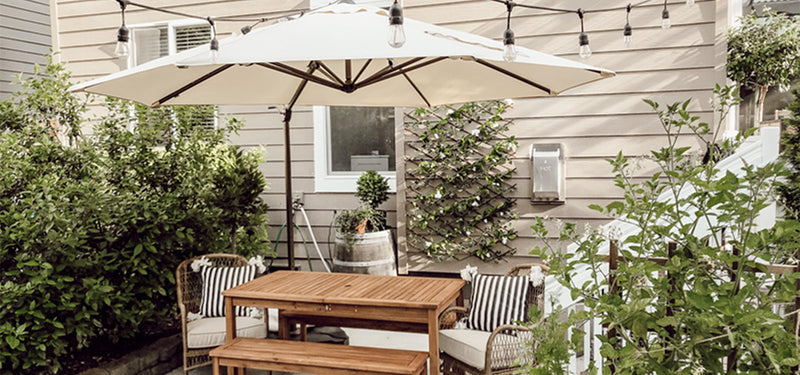 Some Tricks to Keeping Your Patio Cooler in This Summer Heat