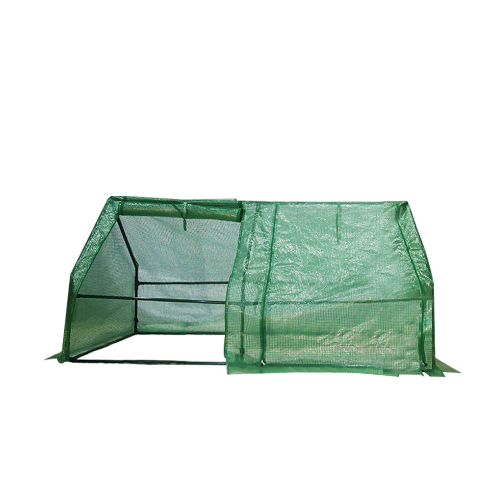 Abba Patio Walk-in Greenhouse Fully Enclosed Portable Greenhouse, 6'W x 3'D x 3'H