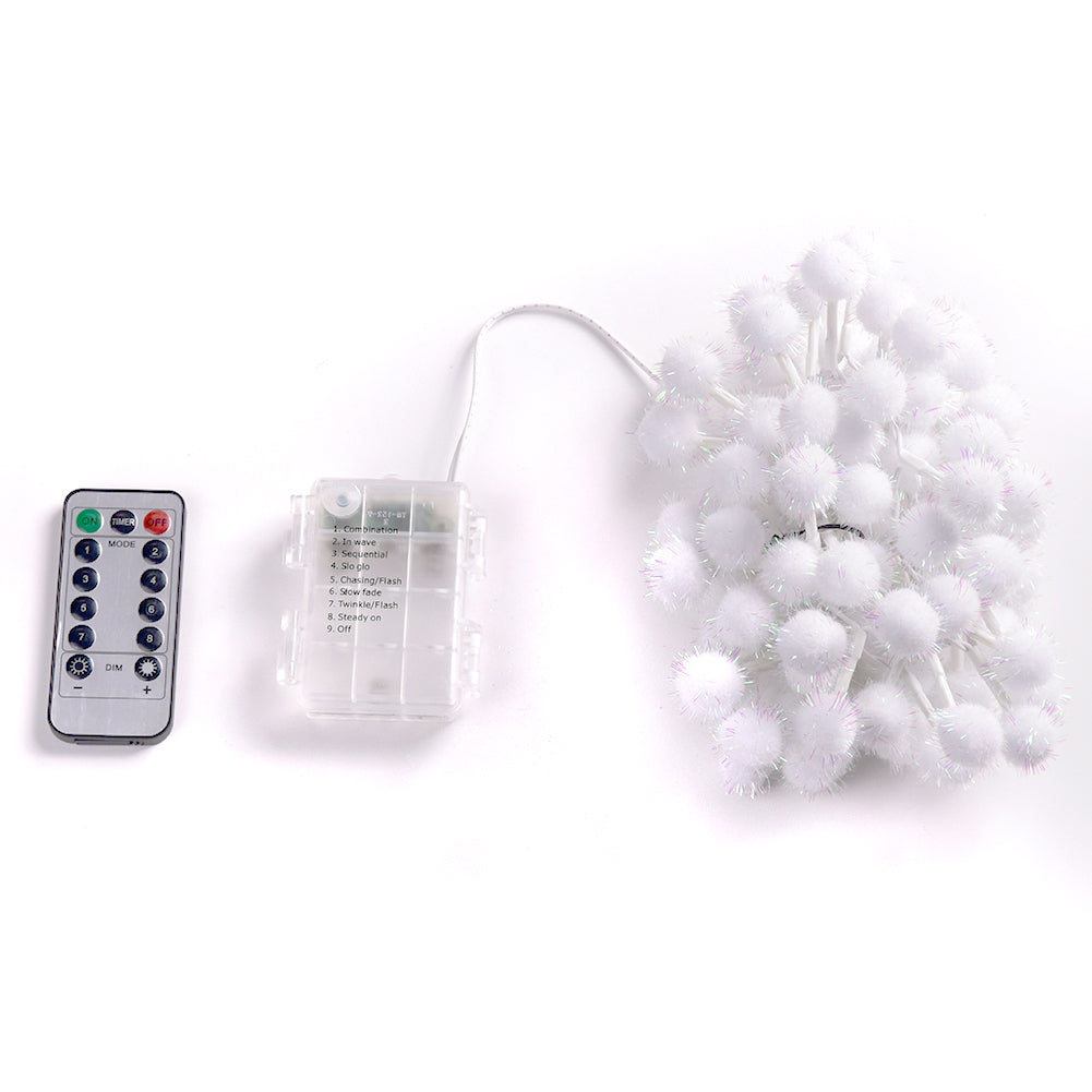 Abba Patio 8 Modes Timer Remote Control 85 Inch 100led Battery Operat