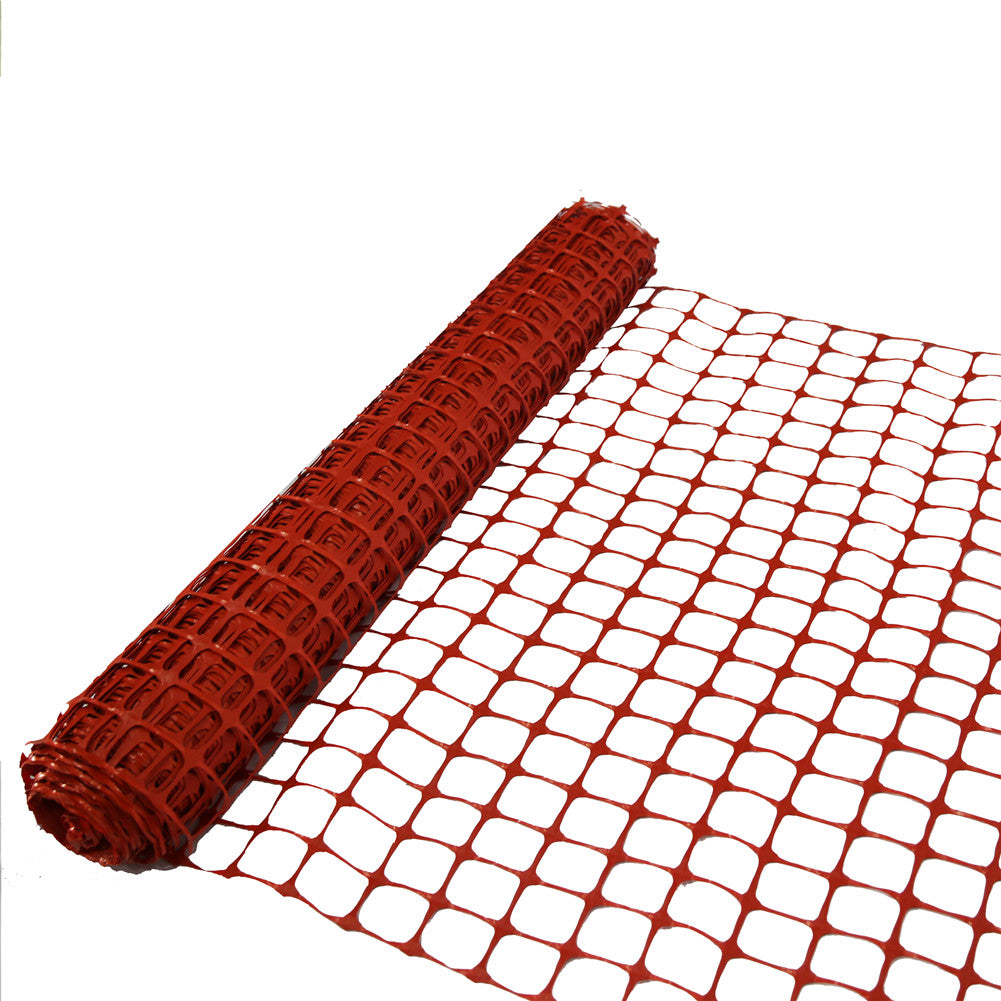 Abba Patio Guardian Safety Netting Fence, Orange, 4 X 100 Ft