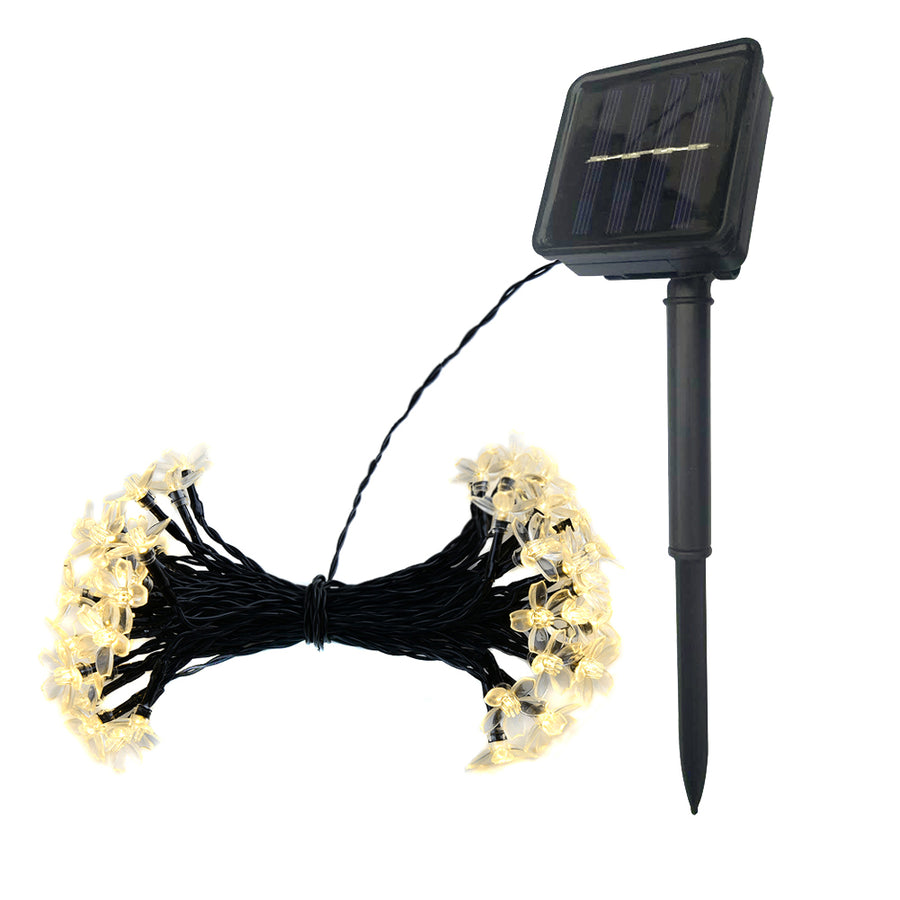 Solar String Lights 23ft 50LED 8 Modes