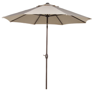 Abba Patio Cover Replacement for 9 Feet Patio Umbrella, Beige(Frame not Include)