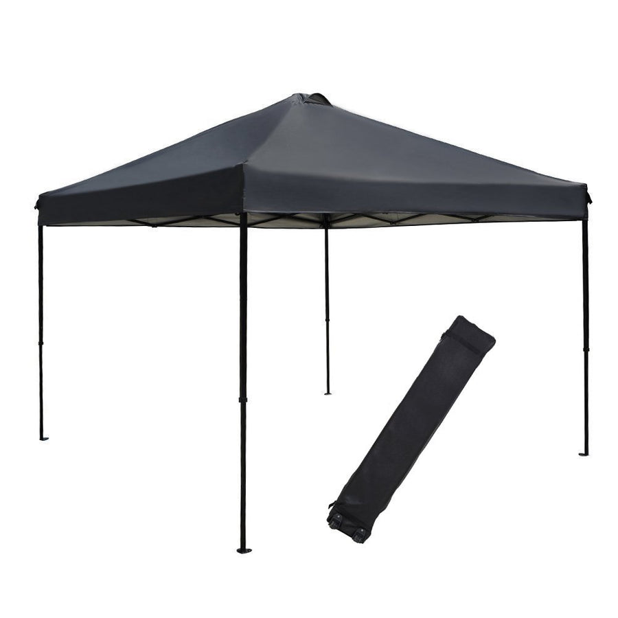 10 x 10 Feet Outdoor Canopy with Roller Bag