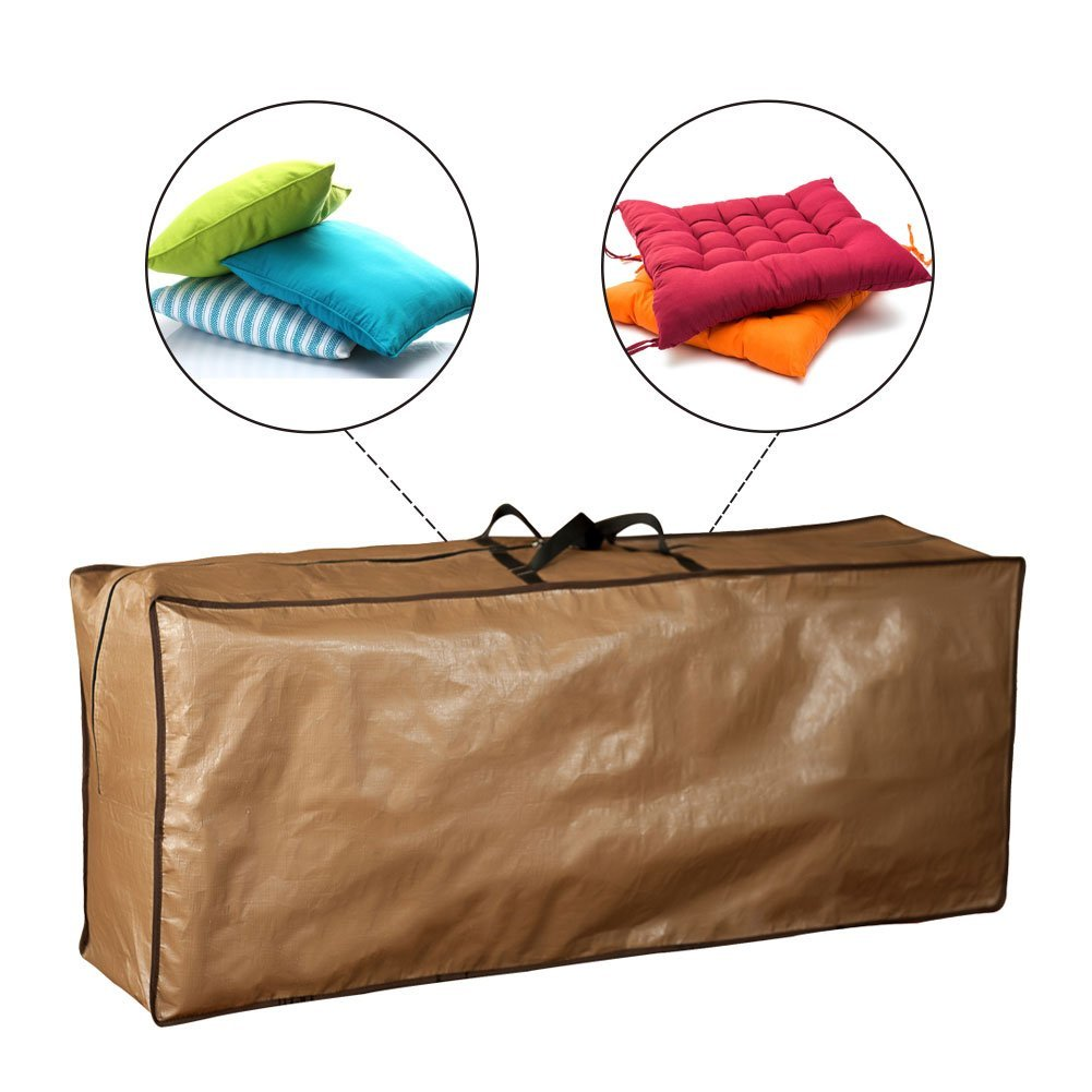 Outdoor Rectangular Storage Bag, Protective Zippered with Handles, 50''L x 13''W x 20''H