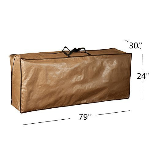 Rectangular Cover Storage Bag, Protective Zippered Handles, 79''L x 30''W x 24''H