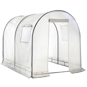 8'L x 6'W x 6.6'H Walk in Greenhouse