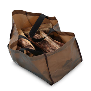 "Abba Patio Log Tote Bag, 25""L x 12""W x 12""H"