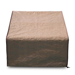 "Porch Single Lounge Chair Cover, All Weather Protection, Brown, 34""L x 35""W x 31.5""H"