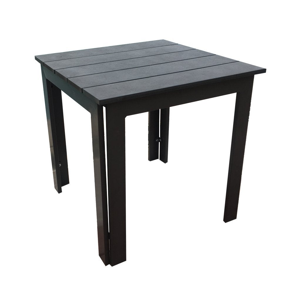 Side Table Recycle Wood Plastic Composite End Table, 22